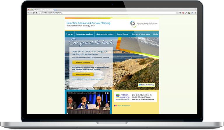 Conference WordPress website