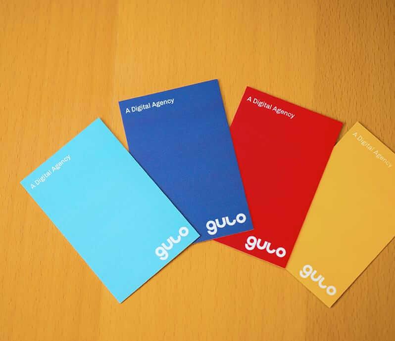 Gulo - A Digital Agency - new business card