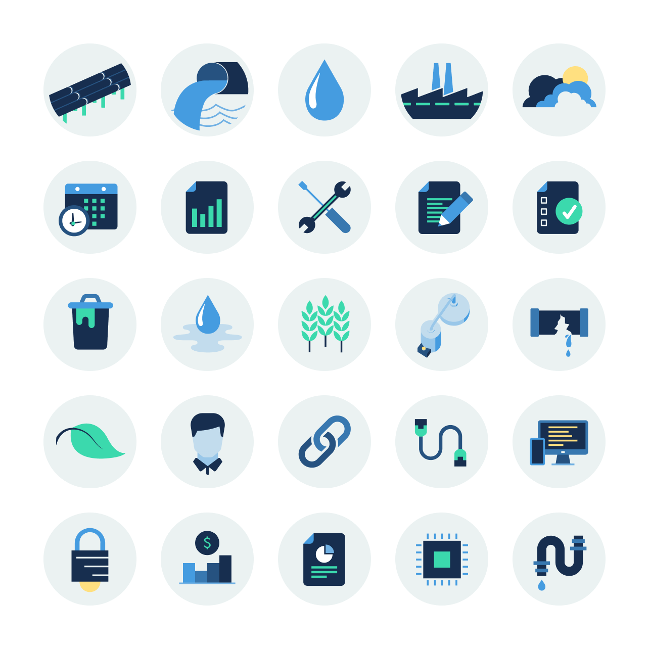 High Tide Technologies iconography