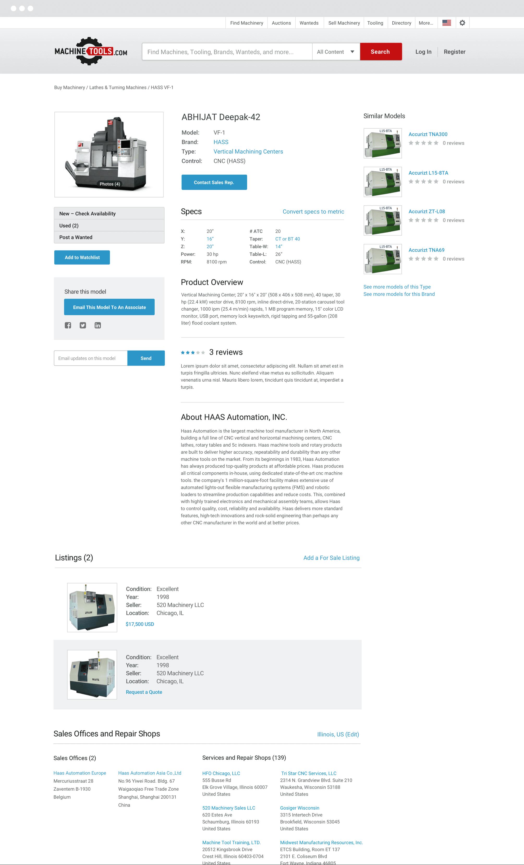 clean simple design
