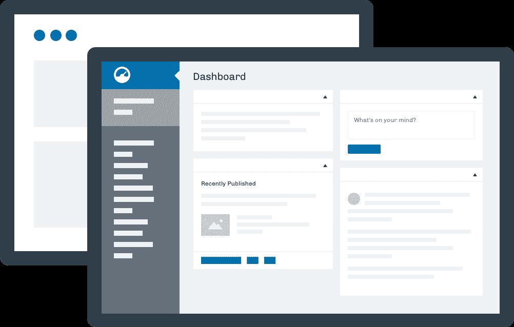 WordPress Agencies Illustration