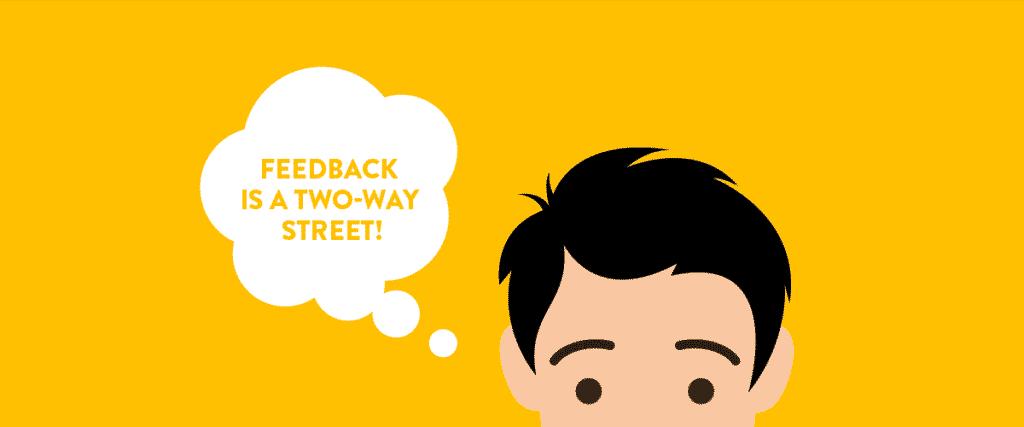 web design feedback is a two way street