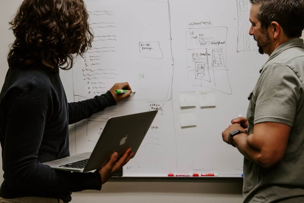 design prototype whiteboard