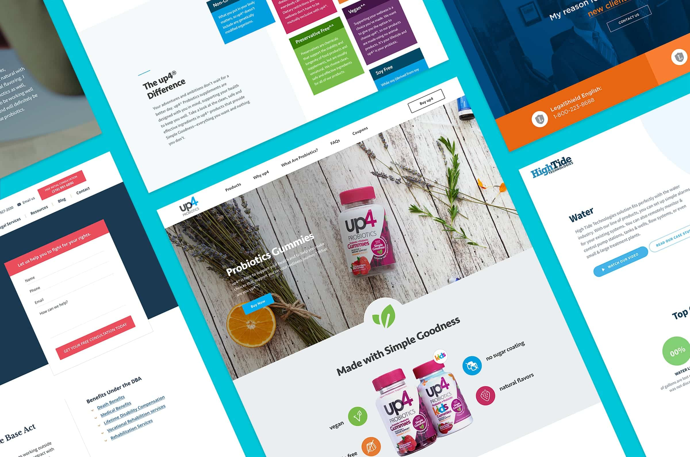 Campaign Landing Pages by Gulo