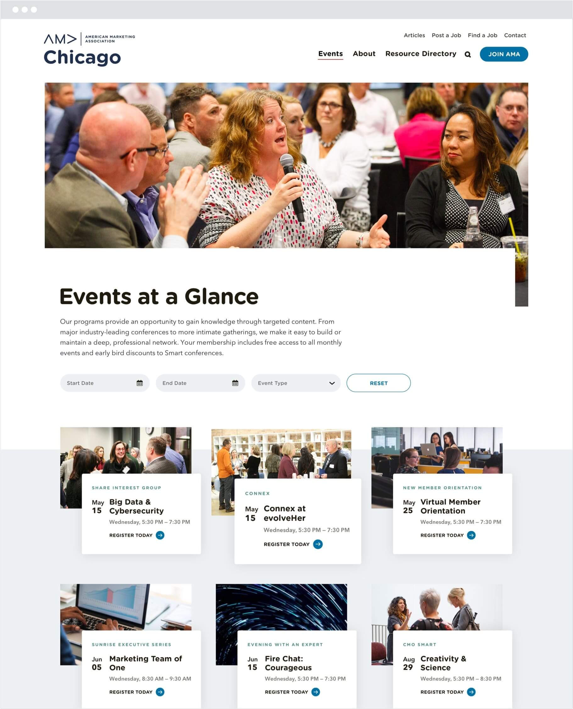 amac-event-archive-page