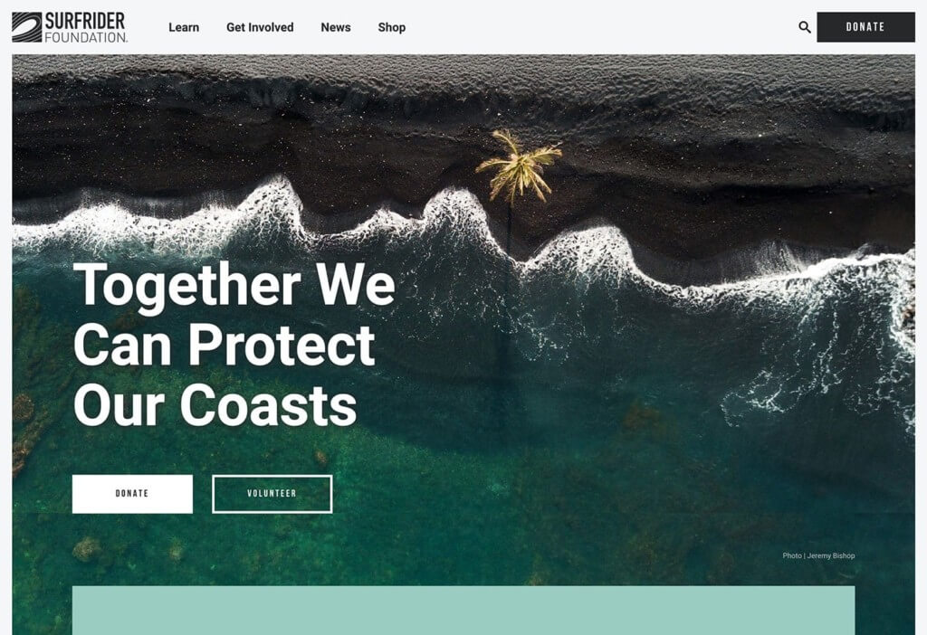 Surfrider Foundation website