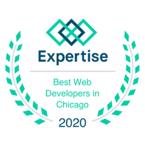 expertise best web developers in Chicago 2020 badge