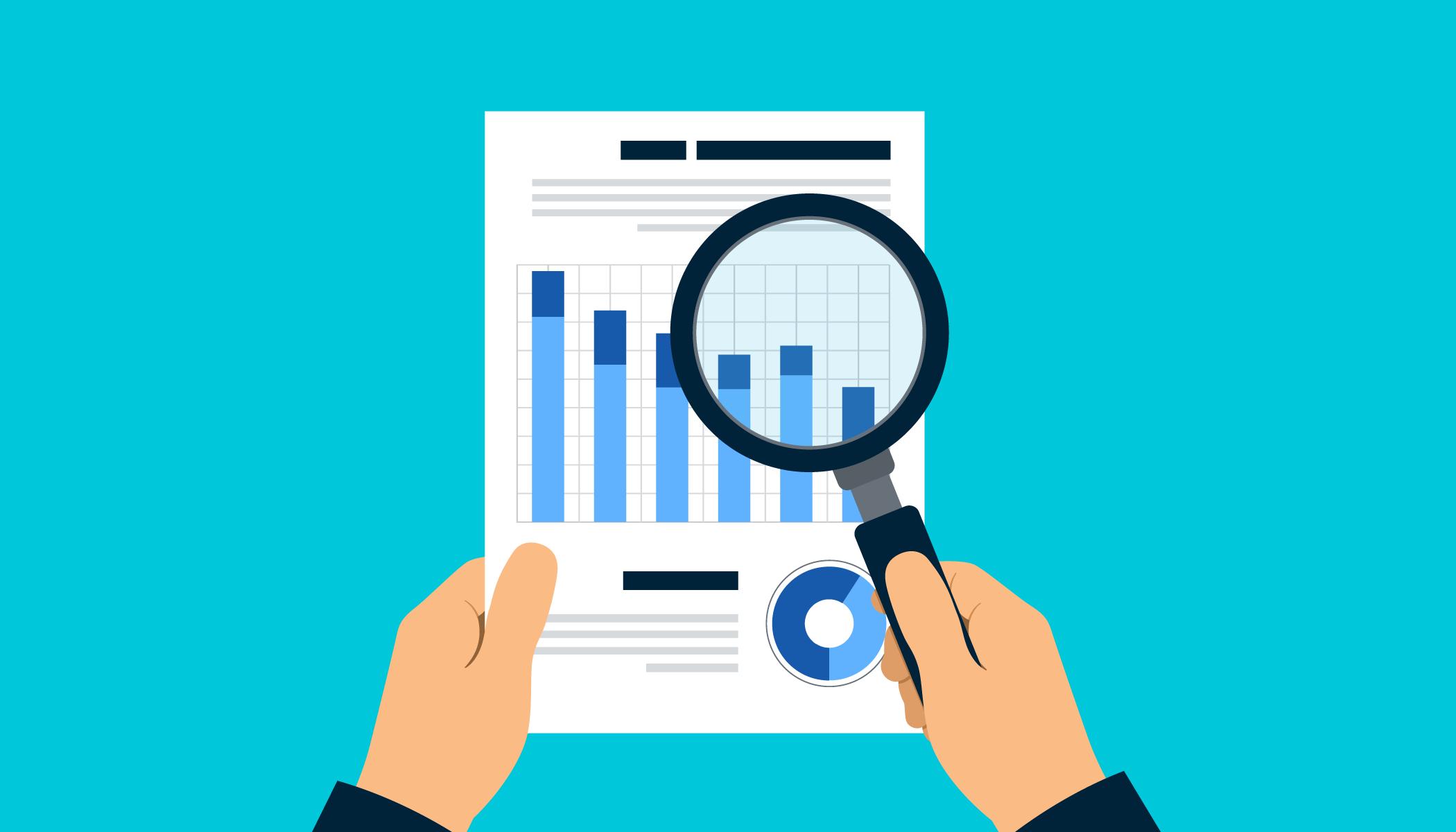 SEO analysis report graphic