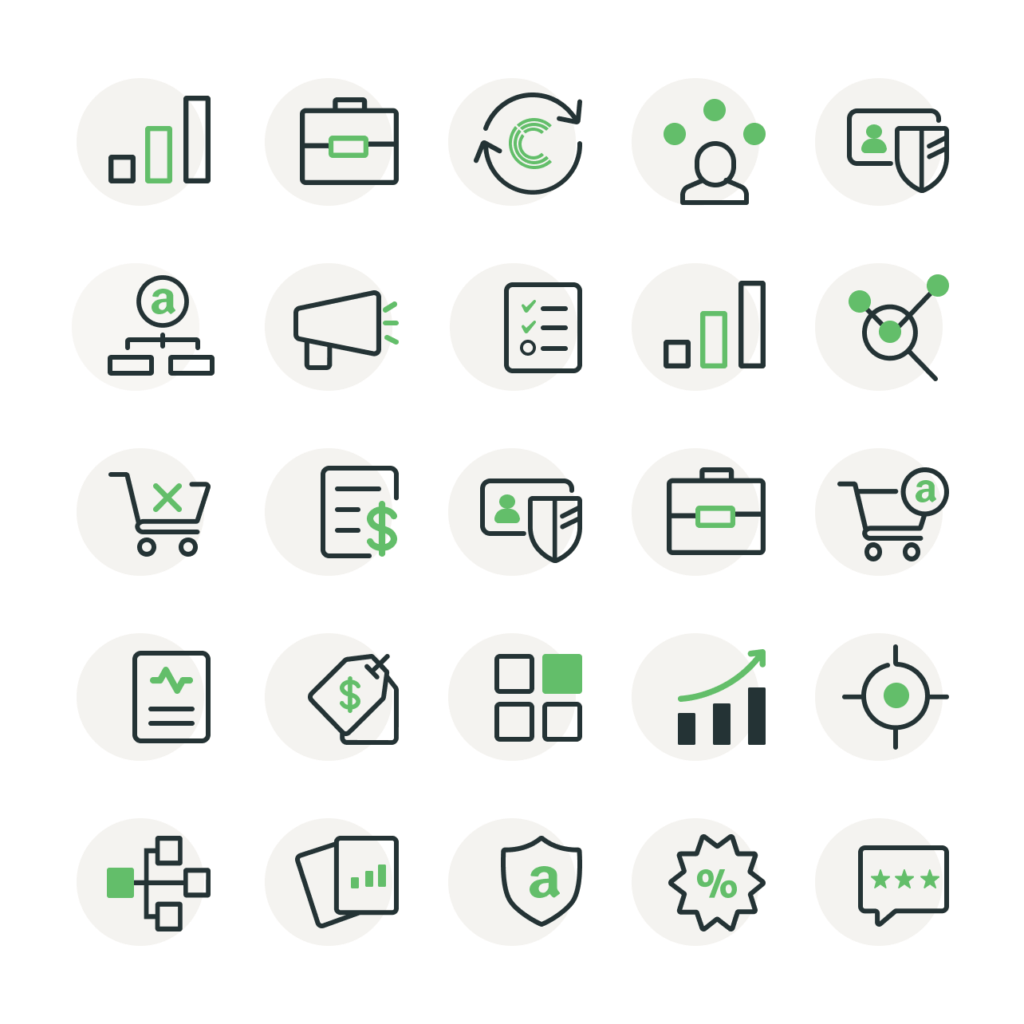 displaying ClearCut icons created by Gulo