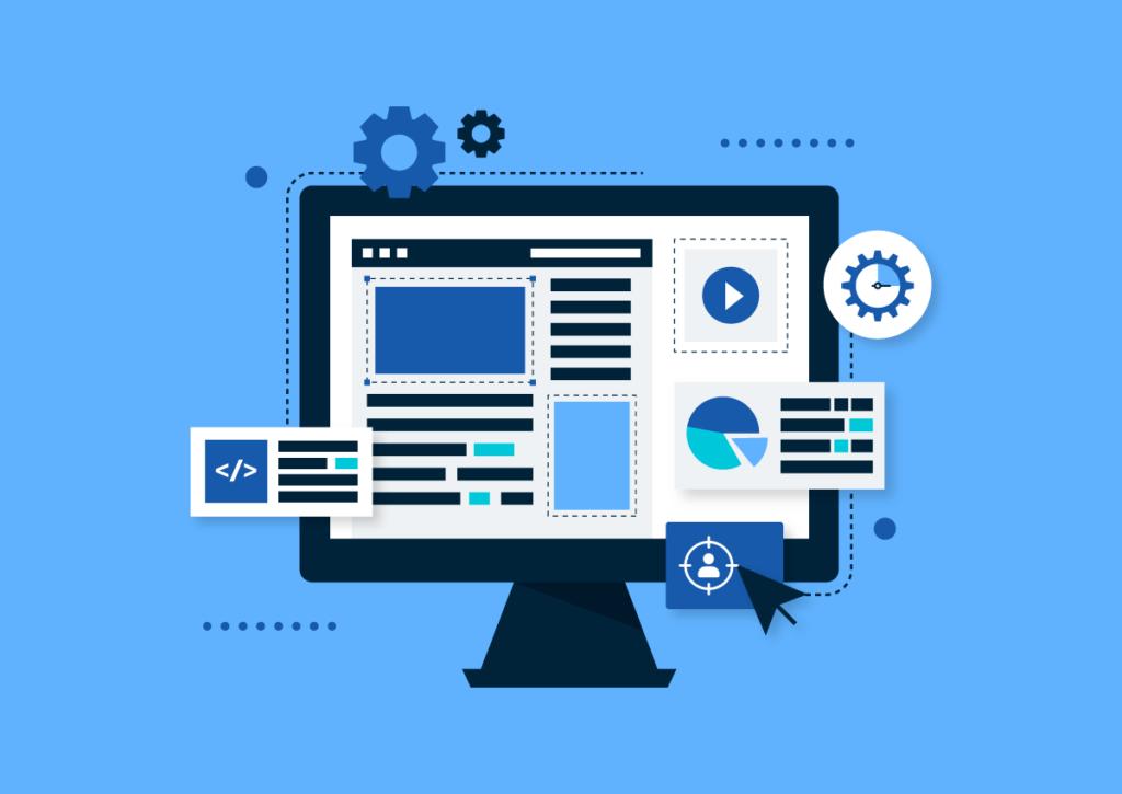 website redesign graphic