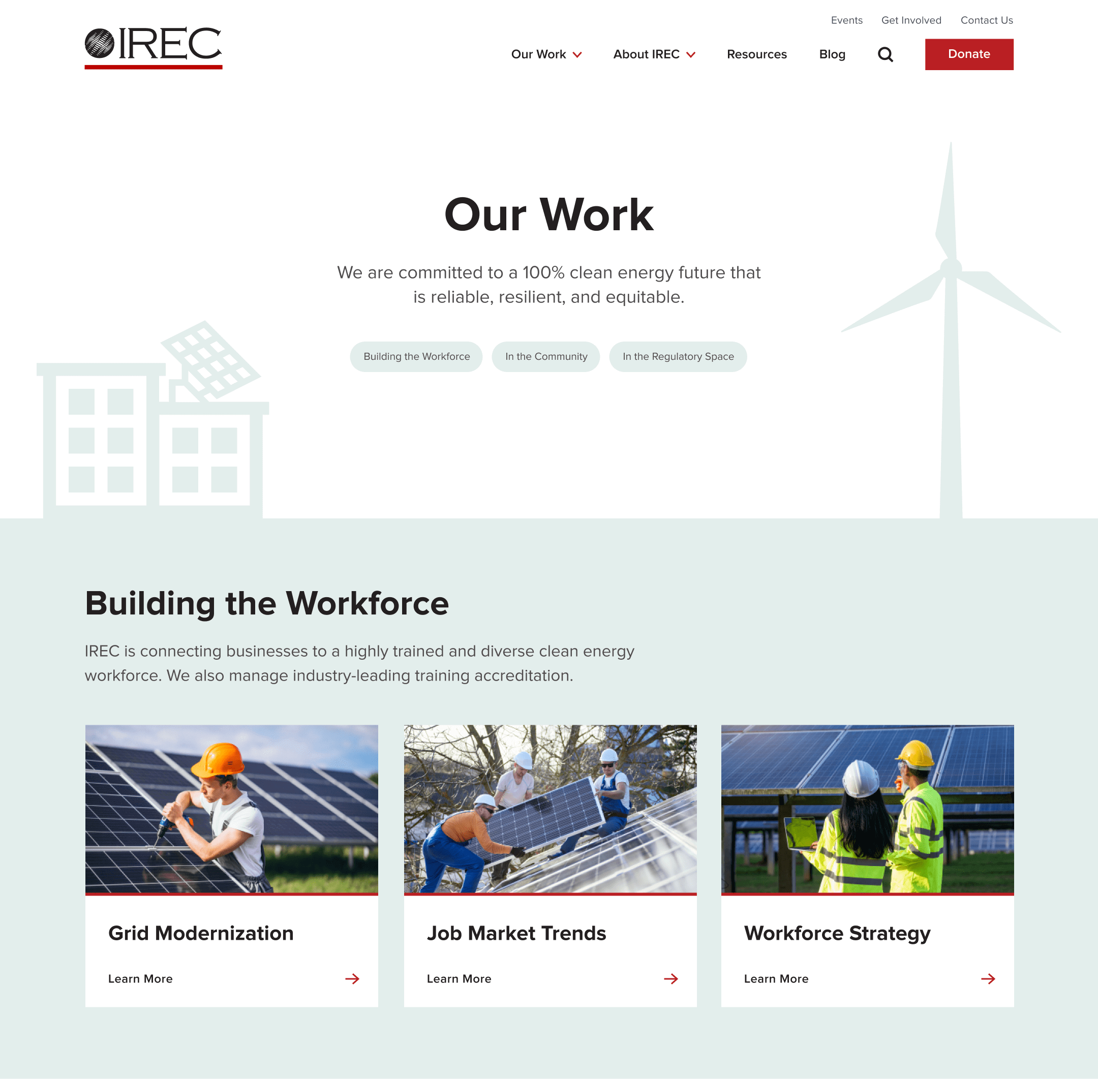 IREC work page